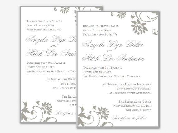 23 Best Of Wedding Invitation Template Office Photos Wedding Invitation Card Template Wedding Invitation Templates Free Wedding Invitations