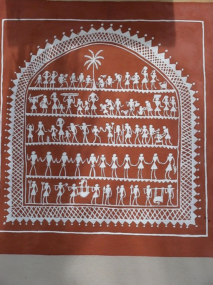 Warlis are an indigenous tribe or Adivasis, living in Maharashtra-Gujarat border and surrounding areas. They have their own beliefs, life, customs and traditions and speak an unwritten Varli language from the Indo-Aryan family. In the book The Painted World of the Warlis Yashodhara Dalmia claimed that the Warlis carry on a tradition stretching back to 2500 or 3000 BCE. Their mural paintings are similar to those done between 500 and 15,000 BCE in the Rock Shelters of Bhimbetka, Madhya…
