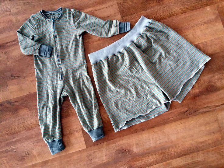 Pappan fick pyjamas-shorts som matcha sonens halar-pyjamas.   Mönster: Suuri käsityö 11-12/2012
