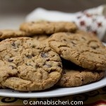Cannabis Infused Toffee Chocolate Chip Cookies