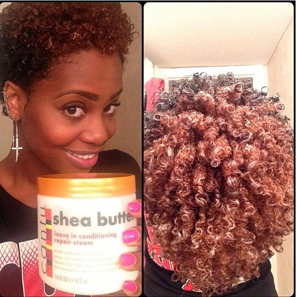 Curling products for natural black hair