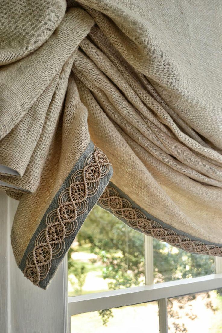 Les 25 meilleures id es de la cat gorie serrer rideaux for Roman interior designs