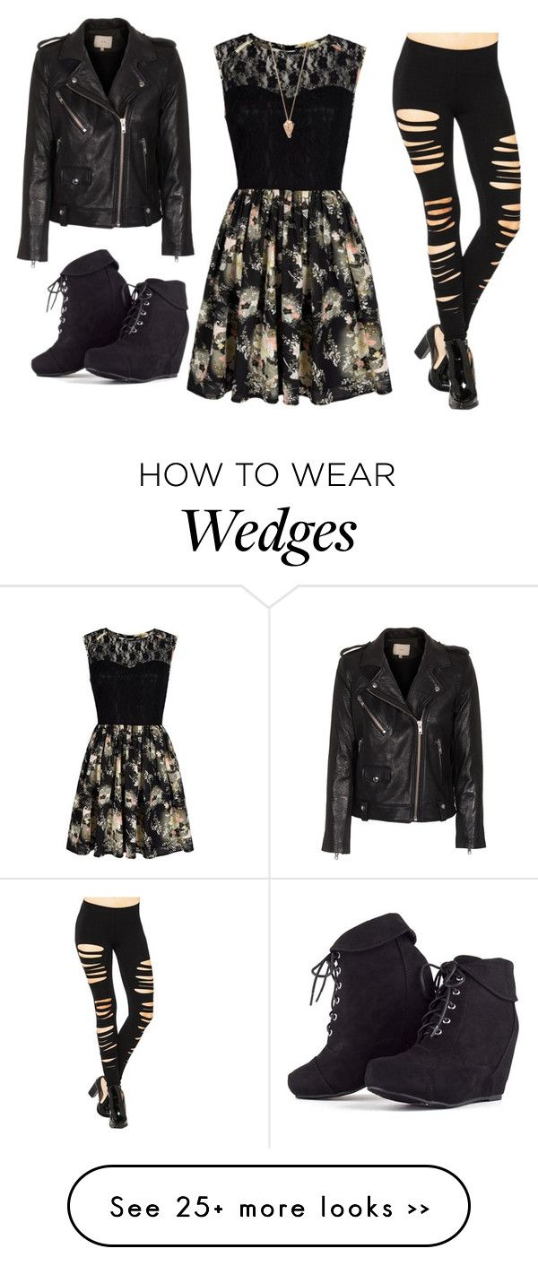 """Fall dress"" by starspy on Polyvore featuring Mela Loves London, IRO and Pamela Love"