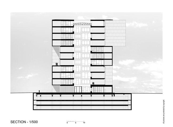 Інноваційний центр UC - Anacleto Анджеліни / Алехандро Аравії   елементної