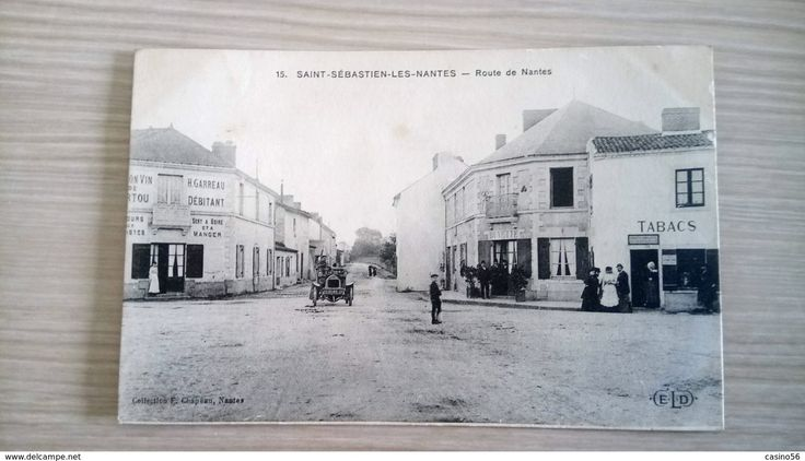 Cpa 44 Saint Sébastien Sur Loire - Nantes