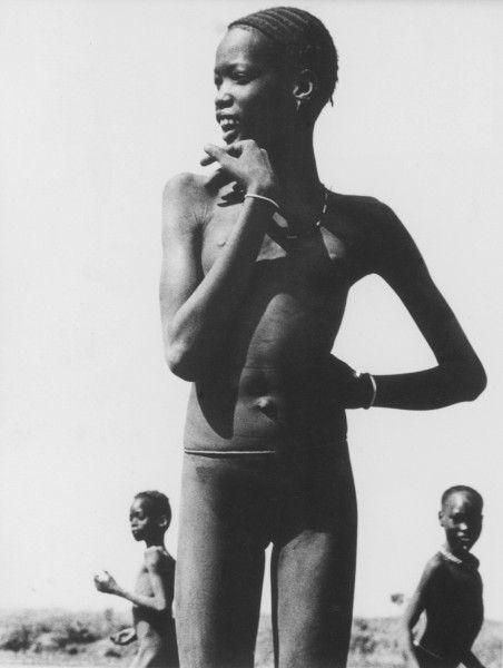 DINKA Girl, circa 1910: