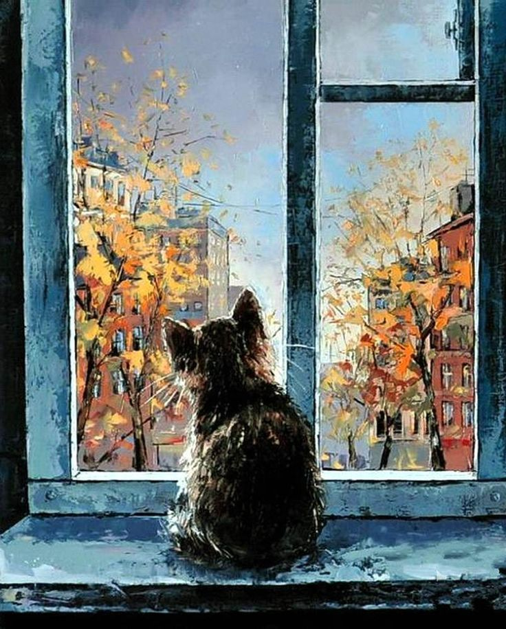 Image Result For Paintings Of Windows Looking Out