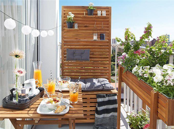 Los 50 Mejores Porches Y Terrazas De El Mueble Decoracion Terraza Decoracion De Terrazas Pequeñas Decorar Terrazas Pequeñas