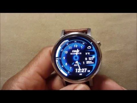 Top 5 android watch faces (Moto 360 2) - YouTube
