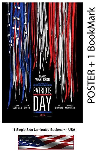 "Patriots Day (2016) - Movie Poster - Size 24x36 "" (Mark Wahlberg)"