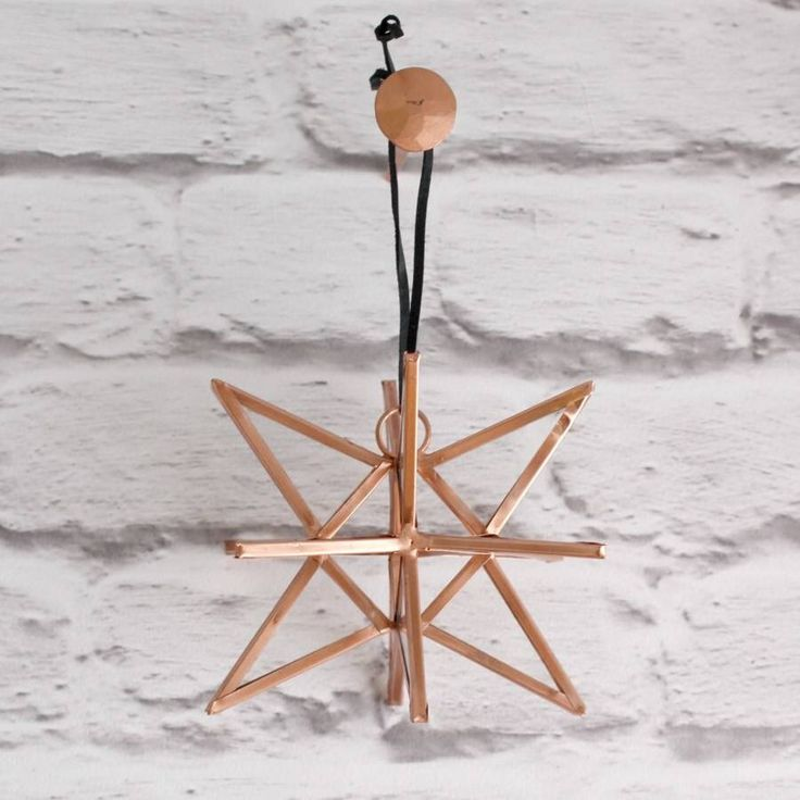 I've just found Hanging Copper Glass Star. A lovely addition to your home.. £12.00