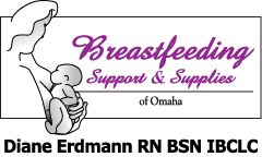Breastfeeding Classes in Omaha, Nebraska | Breastfeeding Support & Supplies of Omaha | Diane Erdmann RN BSN IBCLC | Omaha Lactation Consultant