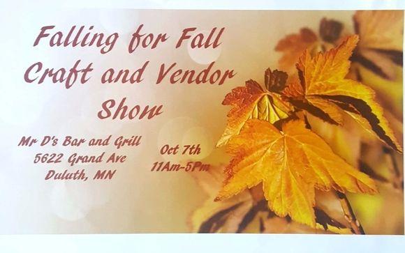 Next Saturday 10/7 at 11am - Falling for Fall