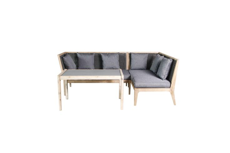Would you like a stylish, Durable and comfortable alternative to traditional outdoor lounge settings? Well we think this might just be the answer. The Drift Casual lounge Dining setting breaks away from the old wicker furniture by using an aged Teak finished hardwood frame with a tightly woven rope weave. The Drift is ideal if you'd like a lounge but don't want to make your area fill cluttered. Customise your area with a range of drift occupational pieces.