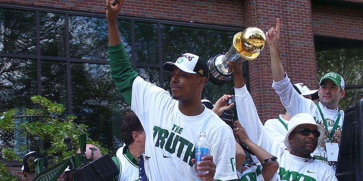 NBA News: Doc Rivers wants Paul Pierce to retire as a Celtics - http://www.sportsrageous.com/nba/doc-wants-paul-pierce-retire-celtics/38218/