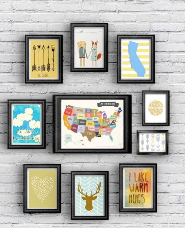 30 Free Printables for Kids' Rooms •Little Gold Pixel