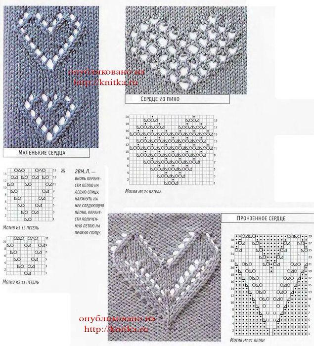 Örgü Kalpli Kazak Modelleri Yapılışı