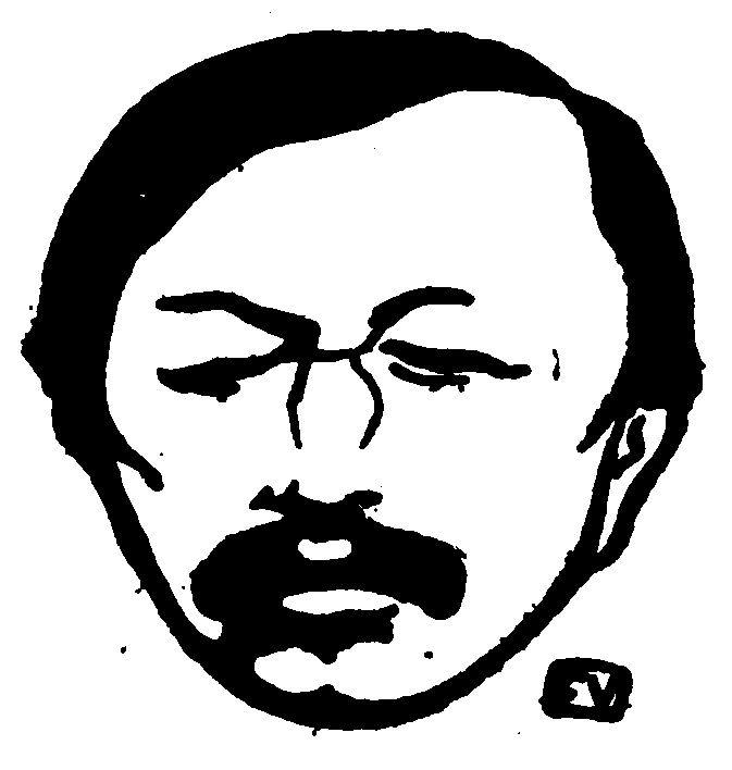 Portrait of French poet Gustave Kahn  by Felix Vallotton  — Found via Artful for Mac — http://artfulmac.com