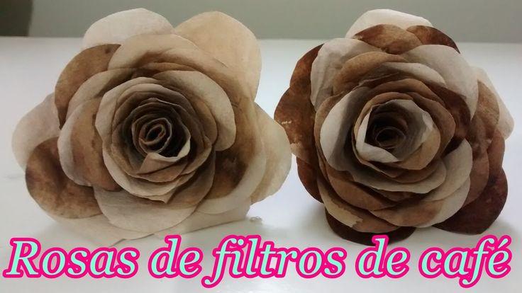 +1000 Ideias Sobre Rosas De Filtro De Café No Pinterest