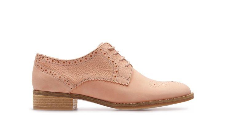 Netley Rose Pink Combi   Clarks