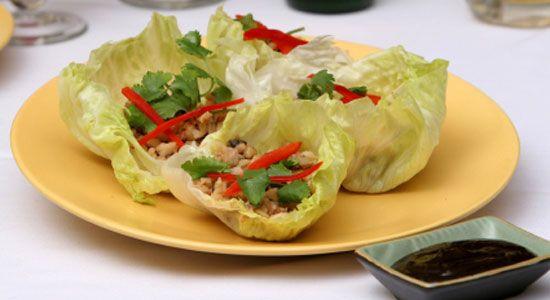 Thai Beef Salad Lettuce Cups