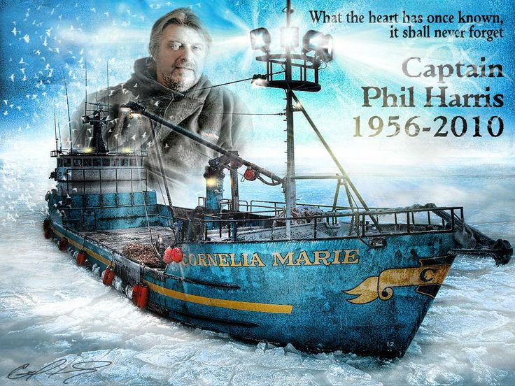 phil harris deadliest catch | Phil Harris cornelia marie pesca mortal en su honor
