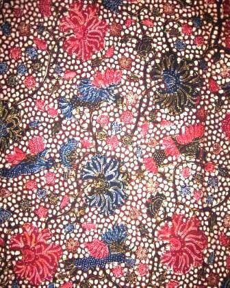 Batik Lasem motif watu kricak