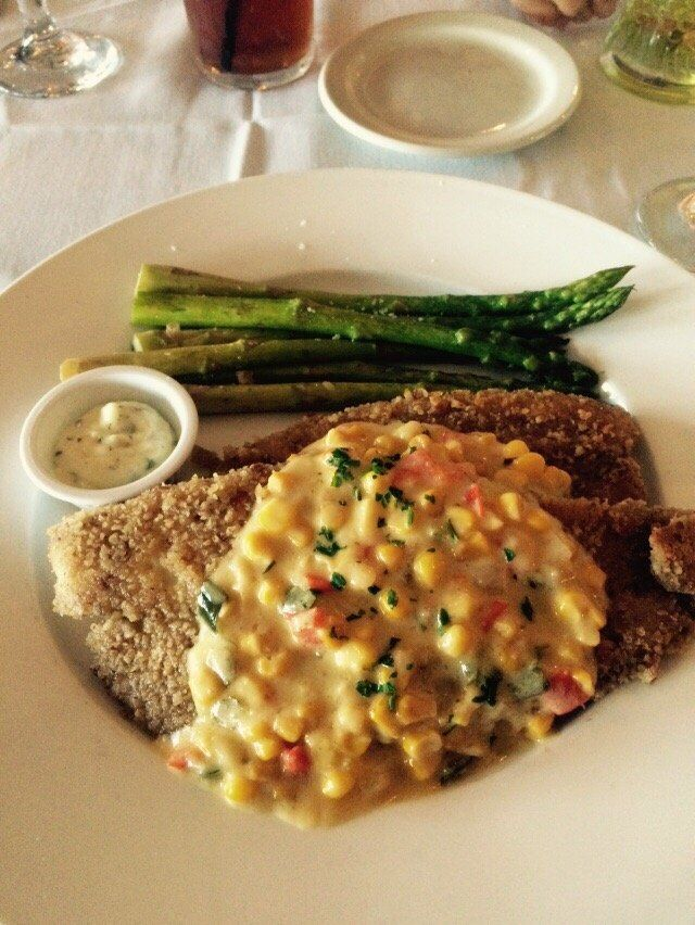gaido's-- Galveston, crusted red snapper