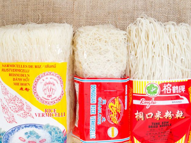 Chichi's Chinese: Dried Rice Noodles | Serious Eats