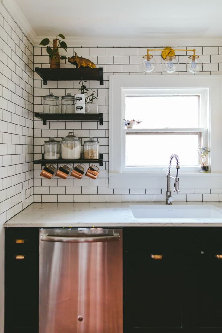 And bright kitchen update the little things apartment therapy - Take A Full Tour Of Rebekah Graeme S Remodeled Open Kitchen