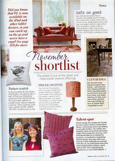 Press feature in Period Living magazine!
