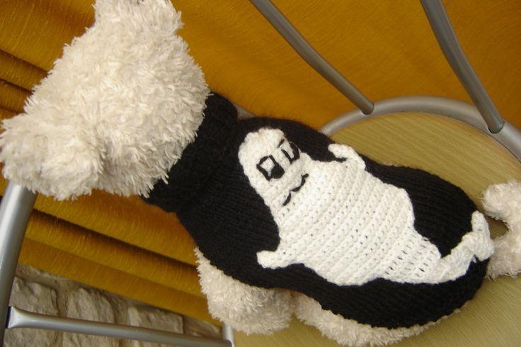 OSCAR: Pull 26cm Halloween pour petit chien : Animaux par jodestyl