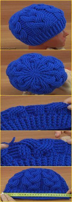 Crochet Braid Cable Stitch Hat Free Pattern Video - Crochet Cable Hat Free Patterns