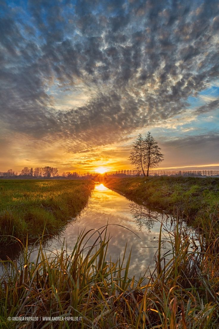 Lovely sunset by Andrea Papaleo on 500px