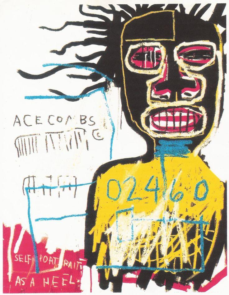 Jean-Michel Basquiat : self portrait