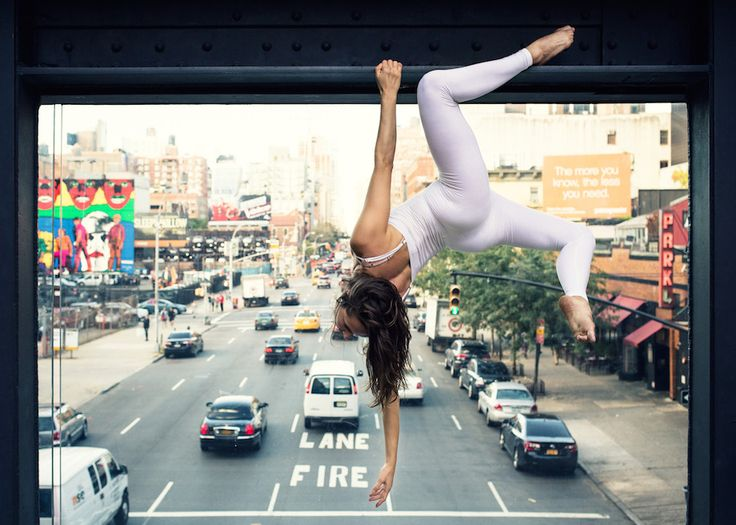 """Urban Yoga by Anja Humljan  """"As long as our bodies will relate to real space, as our heart relates to our body, cities will remain blossoming, citizens will live a fruitful life, and as for architecture itself, it will continue to direct our consciousness back to the world and towards our own sense of being."""""""