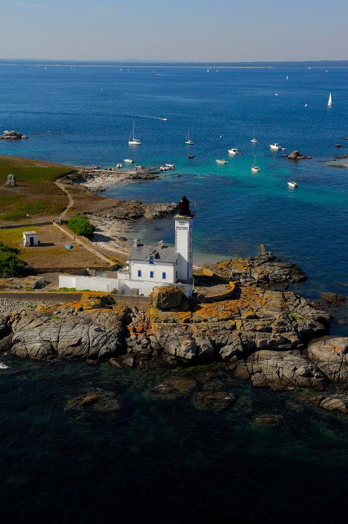 Fouesnant ~ Finistère ~ Brittany ~ France ~ Moutons Lighthouse