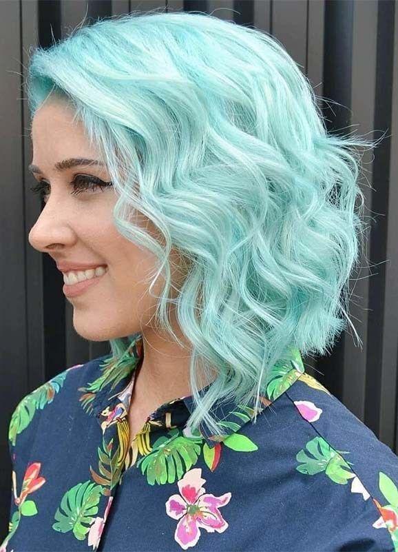 Professional Blue Hair Color Ideas For Short Hair In 2019 Stylesmod Hair Color Blue Hair Color Unique Hair Color Pastel