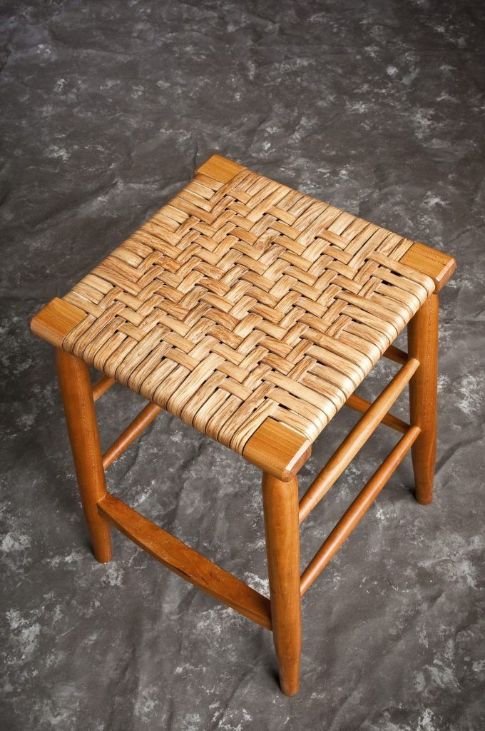 furniture square seagrass bar stool seat mixed varnished wooden legs seagrass bar stools