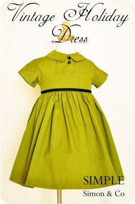 Vintage Dress Tutorial
