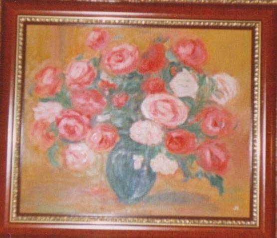 babiččiny růže
