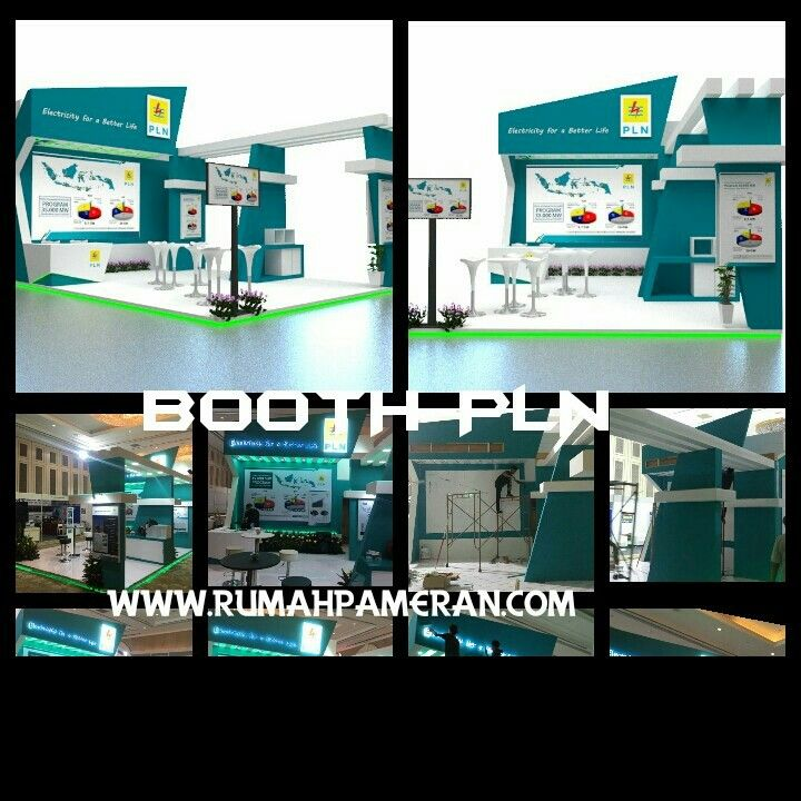 Kontraktor booth pameran