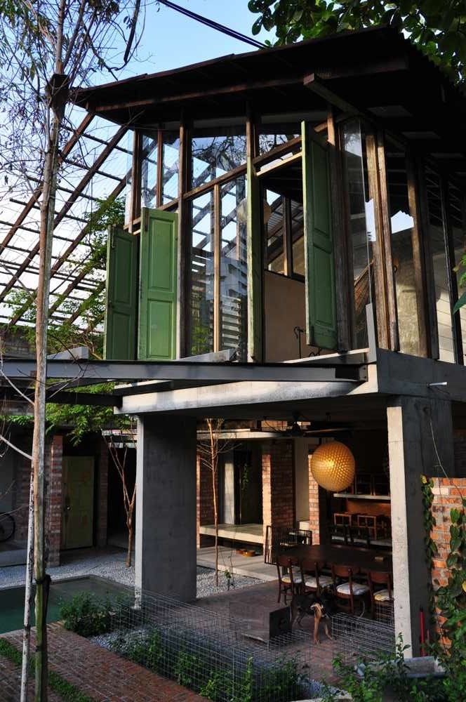 Exposed structure, raw finishes, recycled materials Sekeping Tenggiri | accommodation bangsar, Kuala Lumpur