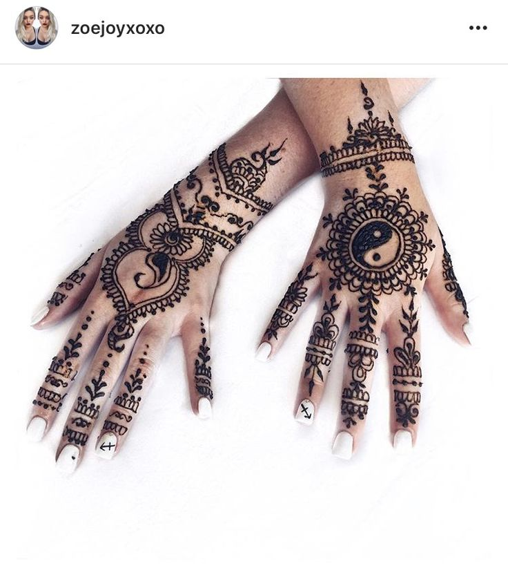 Henna by Jorietha Henna Design, Yin and Yang