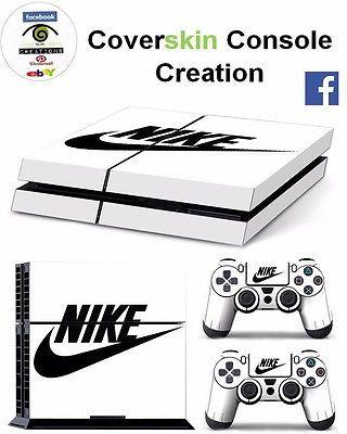 SKIN PS4 NIKE COVER STICKER PELLICOLA ADESIVO PS4 PLAYSTATION 4 + JOYPAD