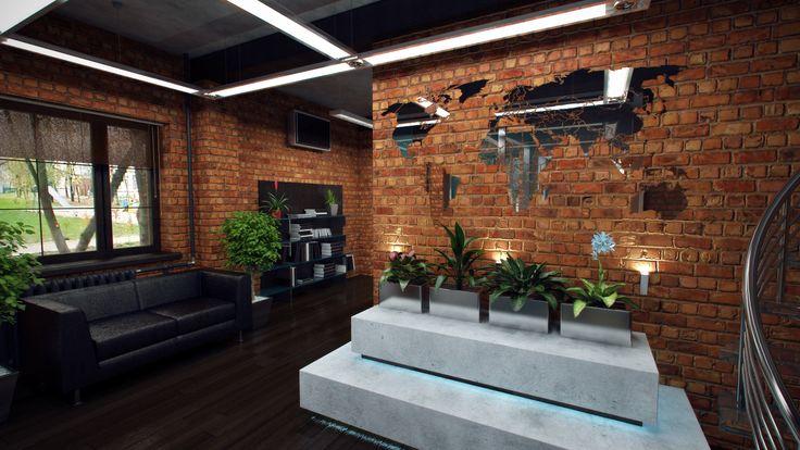Wantvis » Офис в стиле лофт