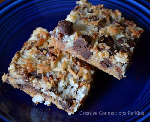 Cookie bars these are yummy a simple recipe that would be an easy