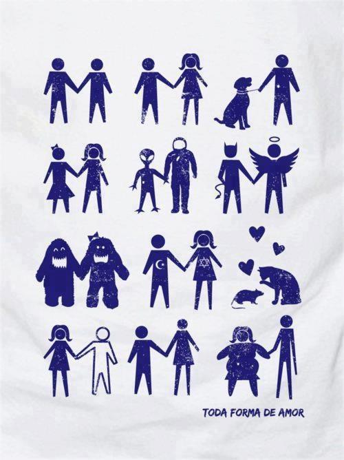 Consideramos justa toda forma de amor... ♪ (Gabi)