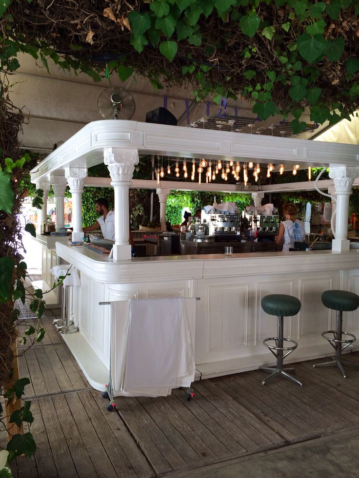 The bar of SLUIZ Ibiza / #Sluiz #ibizabar