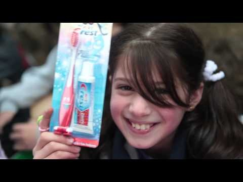 Lebanese Girl With Her Toothbrush - Operation Christmas Child
